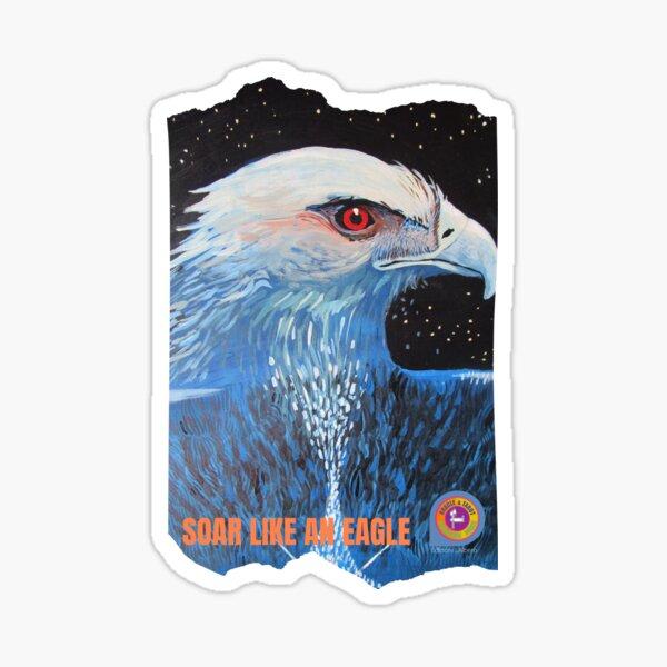 Soar like an eagle by Growing Tree Sticker