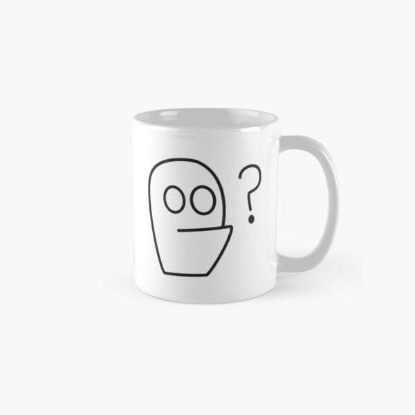 Kev Black Question Mark Classic Mug
