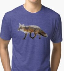 Red Fox Tri-blend T-Shirt