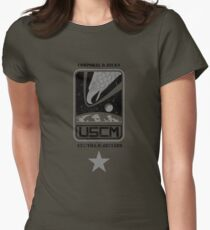 Corporal Dwayne Hicks - Aliens Women's Fitted T-Shirt