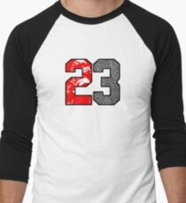 23 Cement Baseball ¾ Sleeve T-Shirt