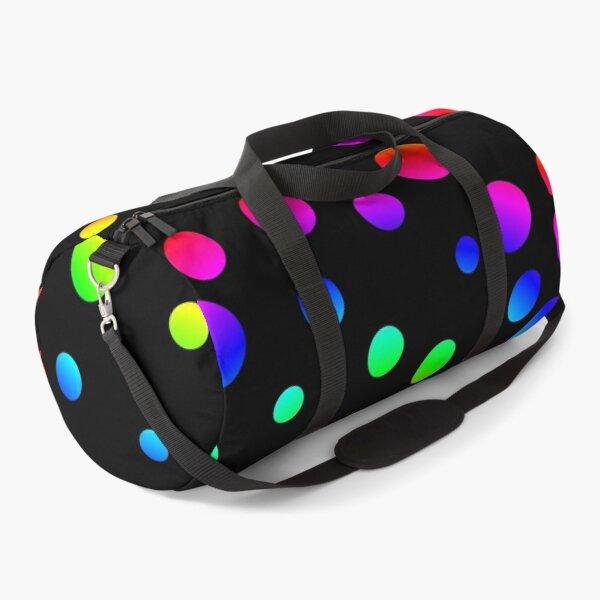 Rainbow dots Duffle Bag