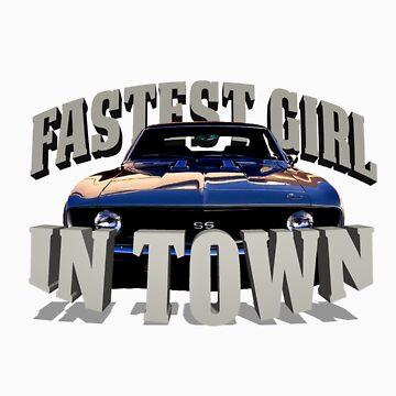 Fastest Girl in Town by SarahJane221B
