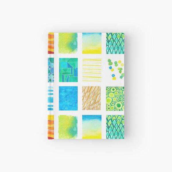 Textures watercolor Hardcover Journal