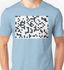 black white sudoku Unisex T-Shirt