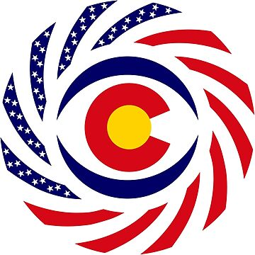 Coloradan Murican Patriot Flag Series by carbonfibreme