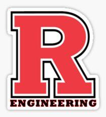 Rutgers Engineering Sticker