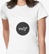 Unofficial Vulf Merch Womens Fitted T-Shirt