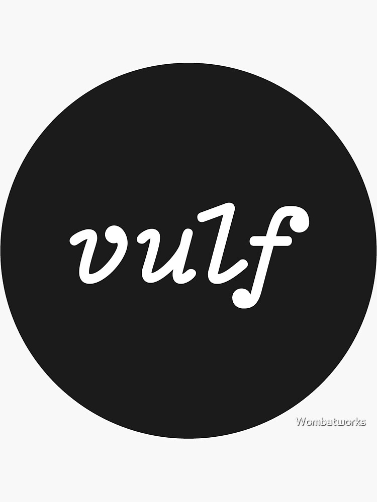 Unofficial Vulf Merch by Wombatworks
