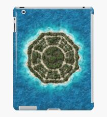 dharma island iPad Case/Skin