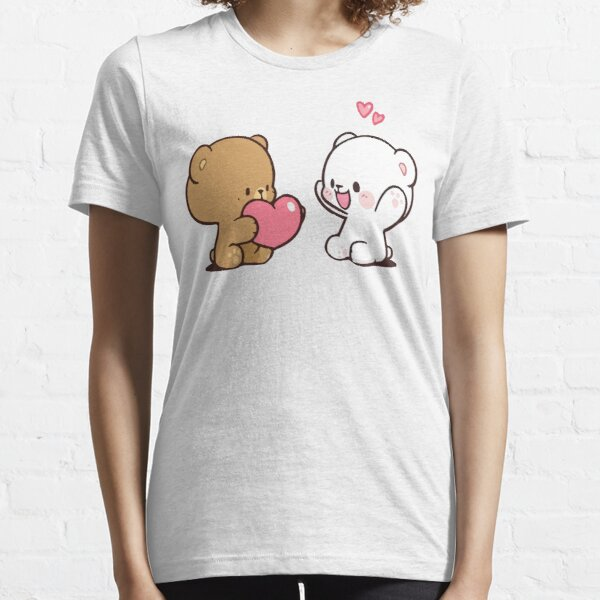 moka au lait mignon T-shirt essentiel