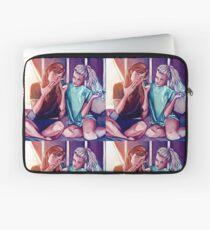 Anna and Elsa Laptop Sleeve