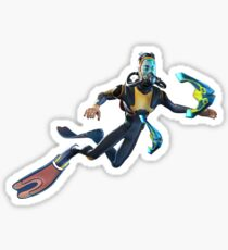 Diver Glossy Sticker