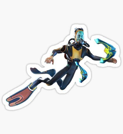 Diver Sticker