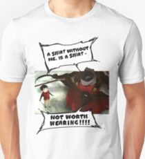 Rak - Tower of God - 'A shirt without me, is a shirt not worth wearing!!!!' T-Shirt