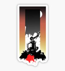 2001: A Space Odyssey - Dawn of Man - With Background Sticker