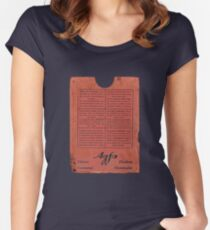 film plates box Women's Fitted Scoop T-Shirt