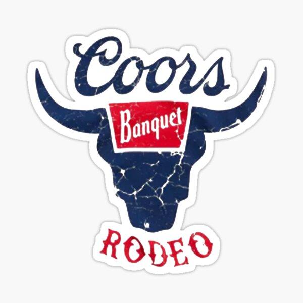 Coors Banquet Rodeo Sticker