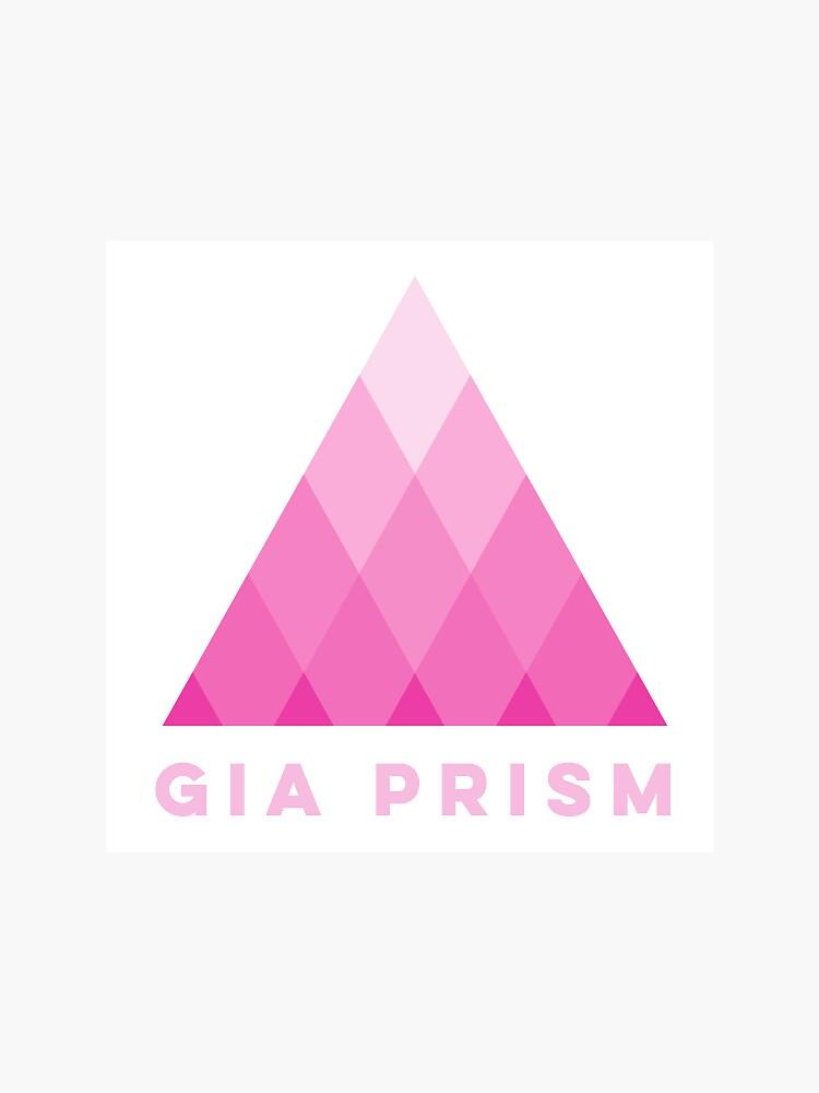 Gia Prism pyramid logo by GiaPrism