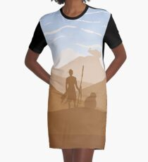 Abandoned Graphic T-Shirt Dress