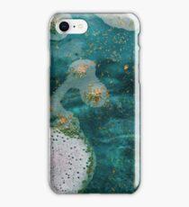 Green Water Marbling iPhone Case/Skin