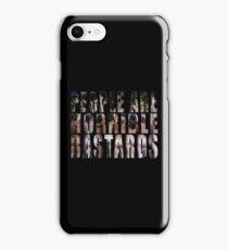 horrible iPhone Case/Skin