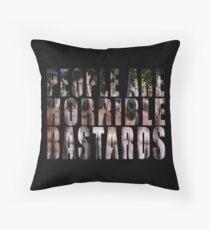 horrible Throw Pillow