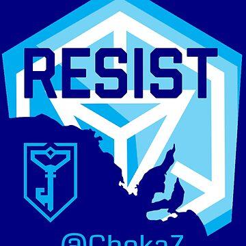 Resist SA @ChekaZ by pondyphotos