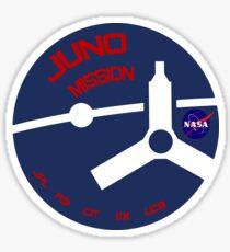 JUNO Mission Logo Sticker