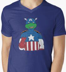 American Turtle Men's V-Neck T-Shirt