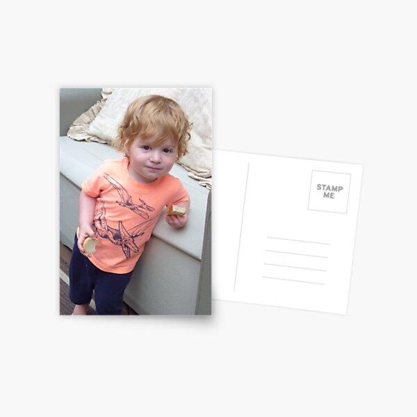 Strawberry Blonde Cutie Postcard