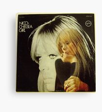Nico- Chelsea Girl, Stereo lp Cover Canvas Print