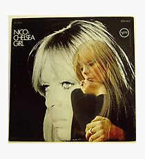 Nico- Chelsea Girl, Stereo lp Cover Photographic Print