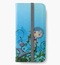 Taking My Goldfish For A Swim iPhone Wallet/Case/Skin