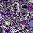 Crazy Wild Abstract by CarolM