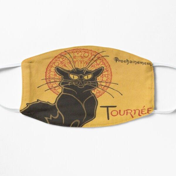 The Black Cat Tour by Rodolphe Salis Flat Mask