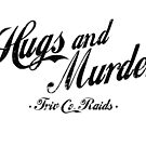 Triv Co. Raids - Hugs and Murder (Black) by relicsoforr