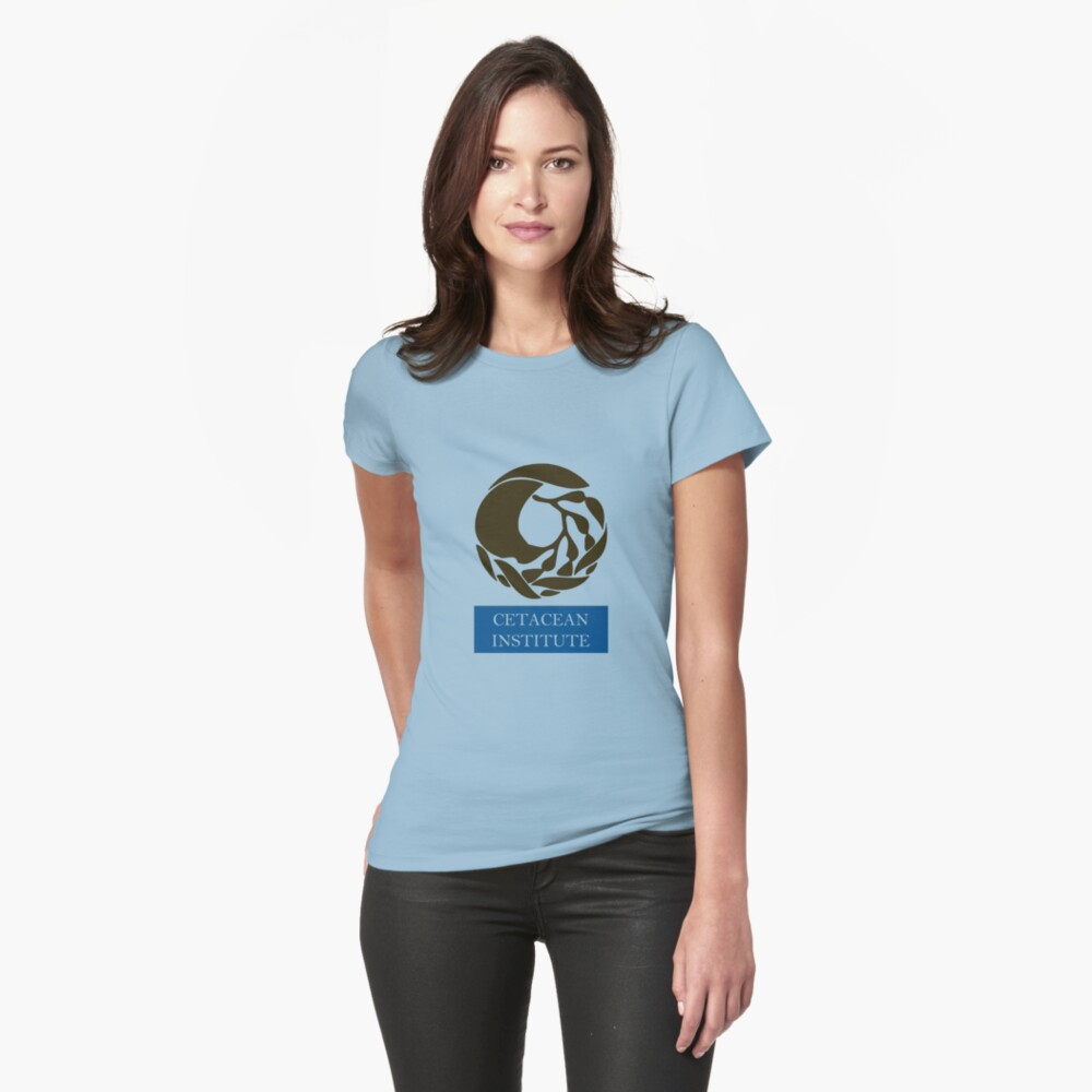 Captain! There be whales here! Womens T-Shirt Front