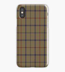 01776 Brooks Brothers Tattersall Camel Fashion Tartan  iPhone Case