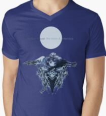the moon & antarctica Men's V-Neck T-Shirt