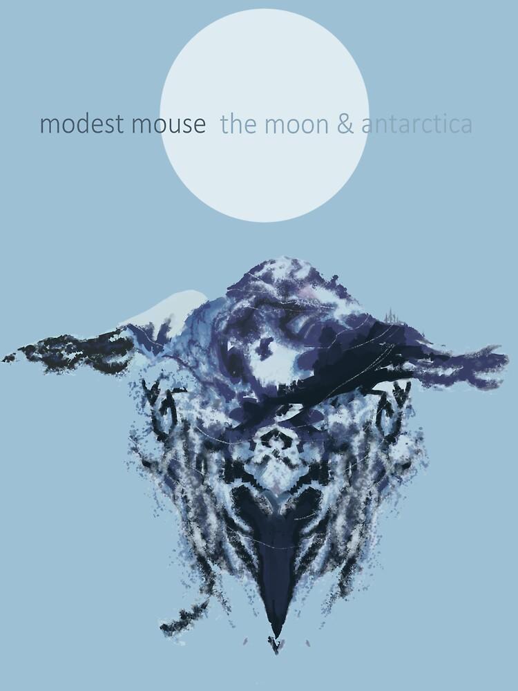 Quot The Moon Amp Antarctica Quot Classic T Shirt By Ghostofstarman