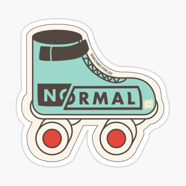 Generation #NoNormal - Rollerskate Glossy Sticker