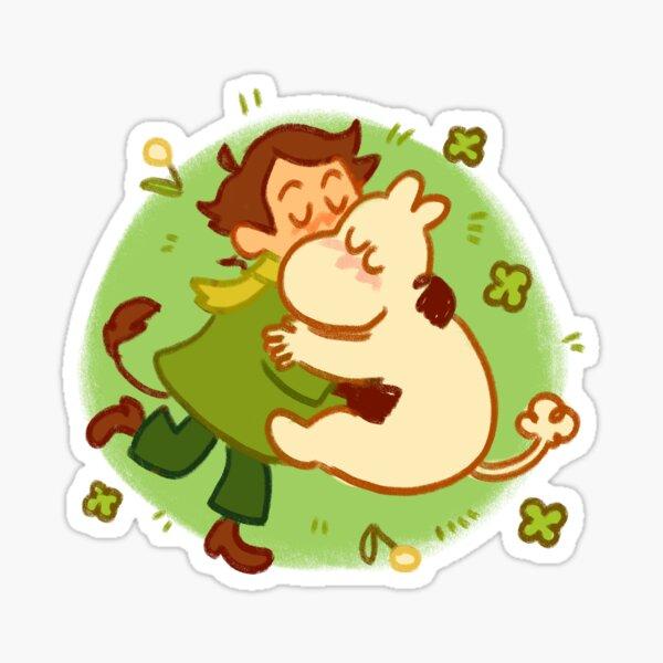 câlin snufmin Sticker