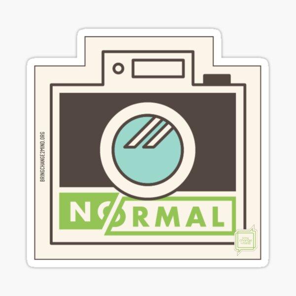 Generation #NoNormal - Camera Glossy Sticker