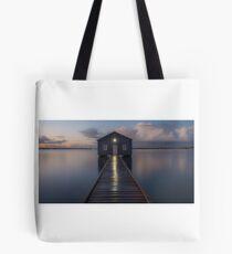 crawley boat shed Tote Bag