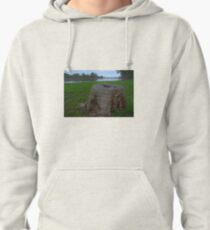 Stump on the foreshore Pullover Hoodie