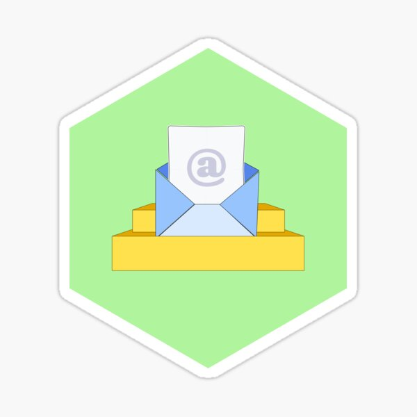 Cold Email for Interesting People — Letter Sticker