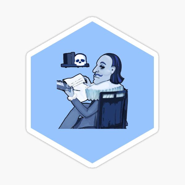 Writing for Software Developers — Hexagon Sticker