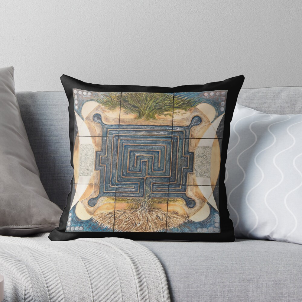 Middle of a Moment Throw Pillow