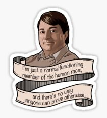 "Peep Show ""Mark Corrigan"" Sticker"